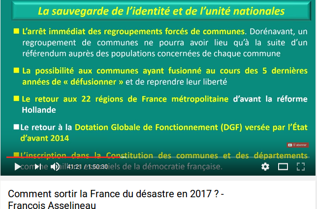 SAUVEGARDE DE NOS DEMOCRATIES LOCALES  ! - FONDEMENTS DE LA REPUBLIQUE