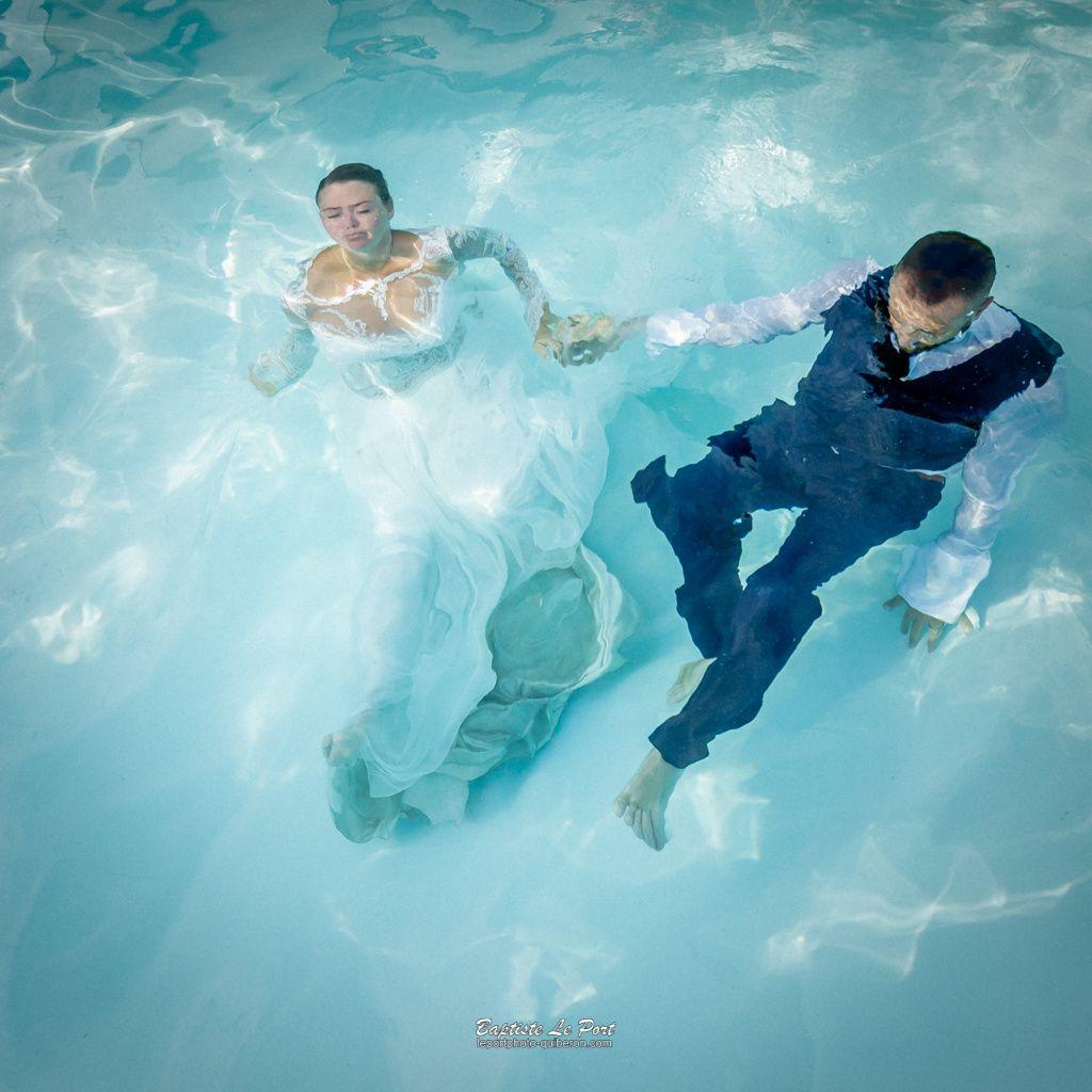 4 juillet - Séance Day After pour Elodie et Jérémy...en piscine