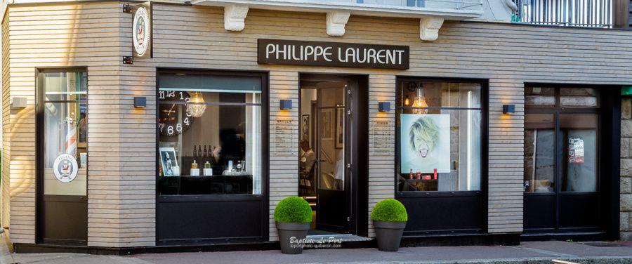 9 juillet - Laurent coiffure nouvelle devanture très réussie