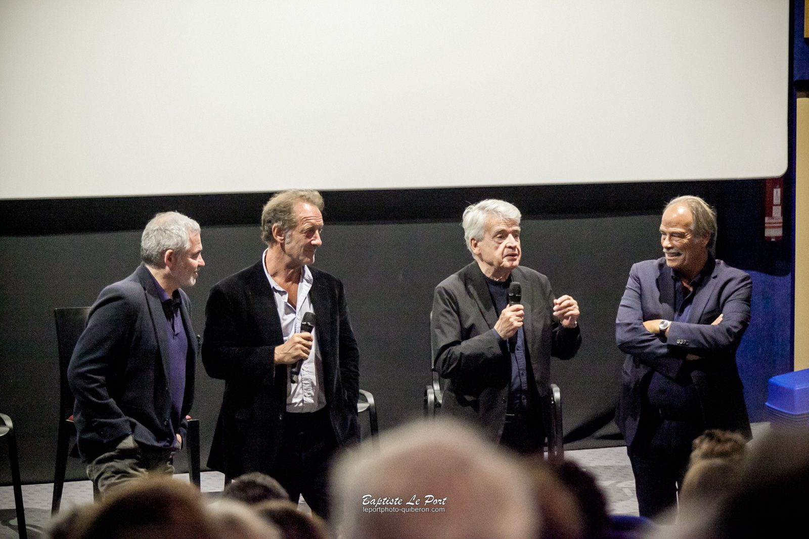 20 septembre - Alain Cavallier et Vincent Lindon au cinéma Paradis