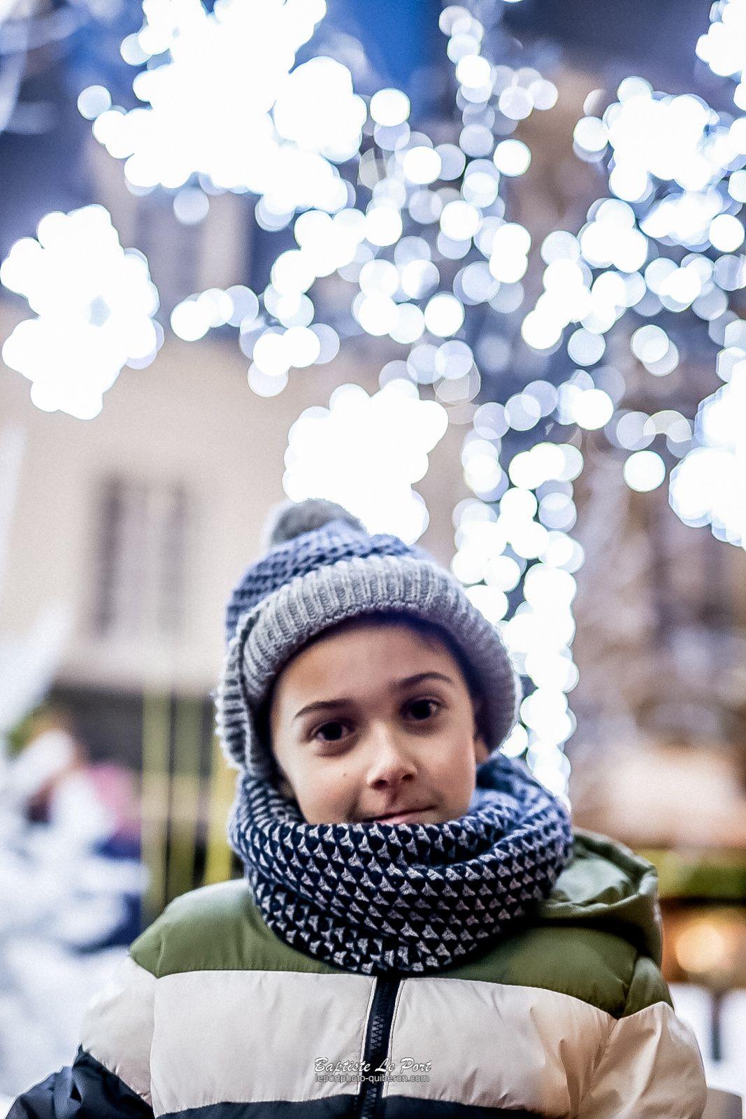 15 décembre - promenade en famille aux illuminations d'Auray