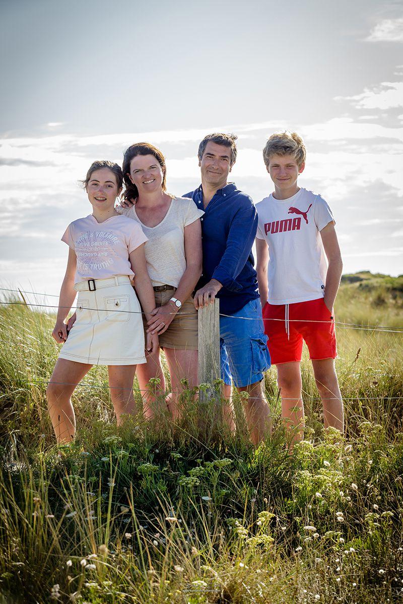 24 juillet - une séance à la plage avec la famille Launay