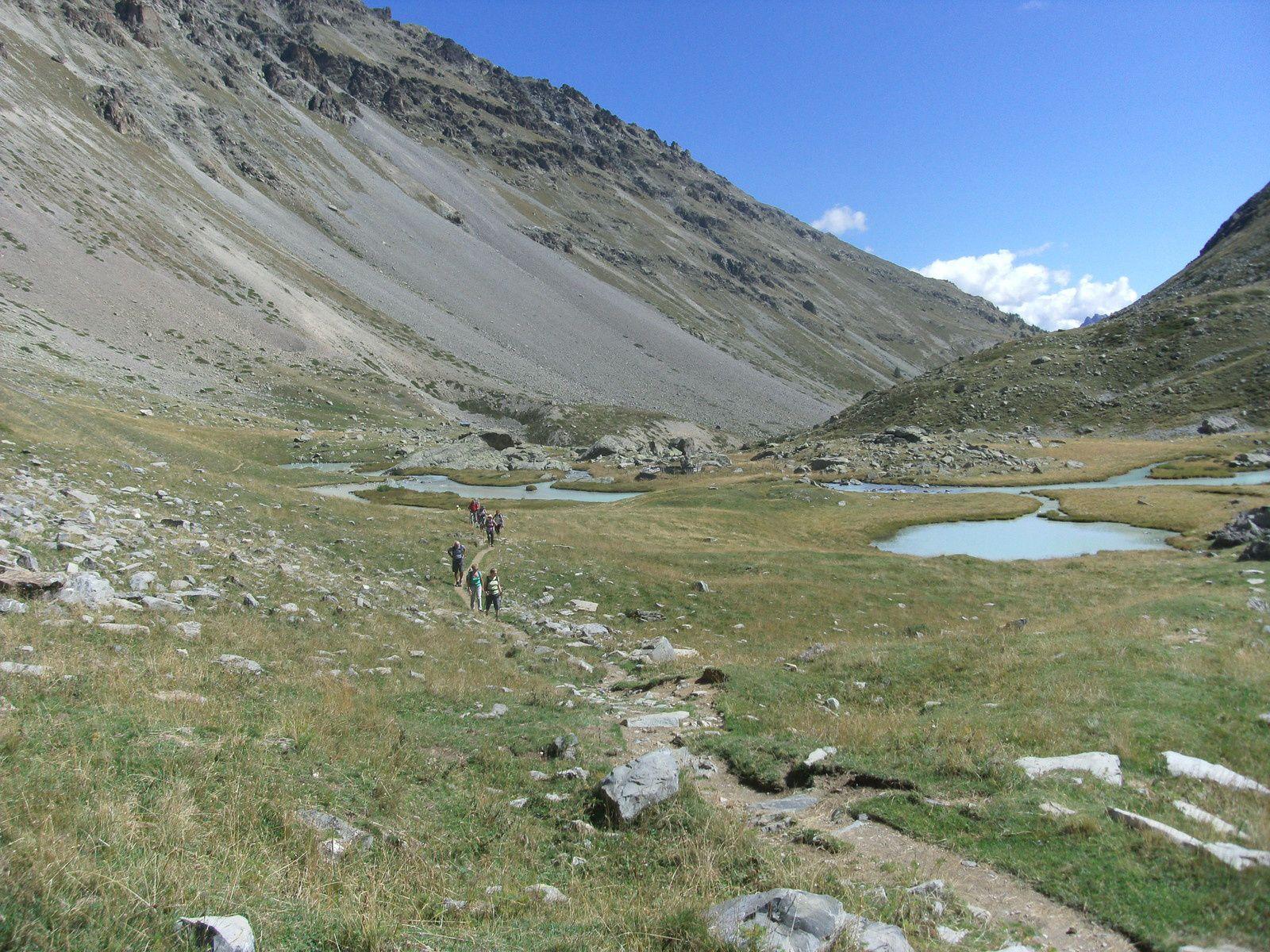 Le col d'Arsine (2340m)
