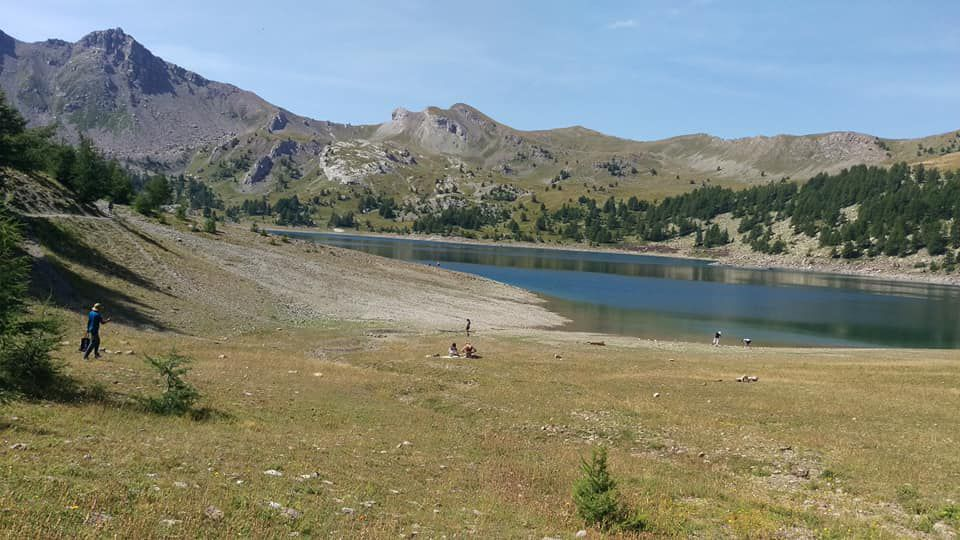 Grand tour du Lac d'Allos