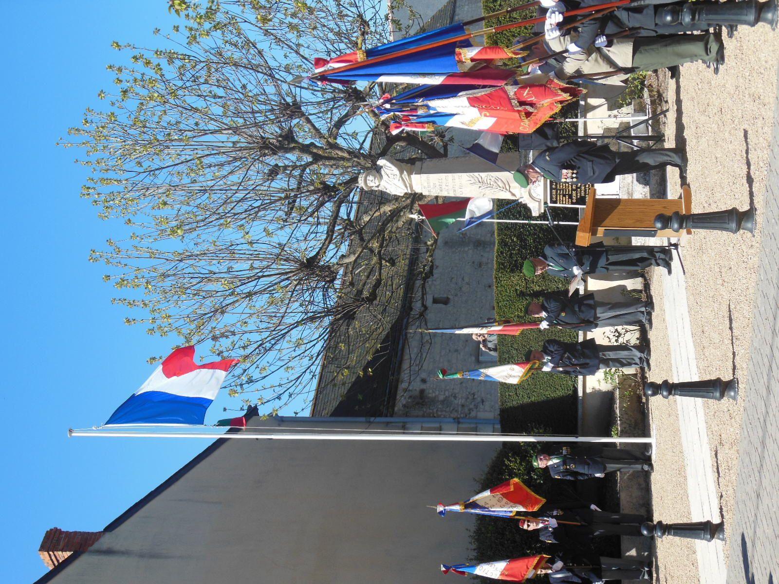 Photos de la cérémonie de Camerone du samedi 29 avril 2017 à Marcé-sur-Esves