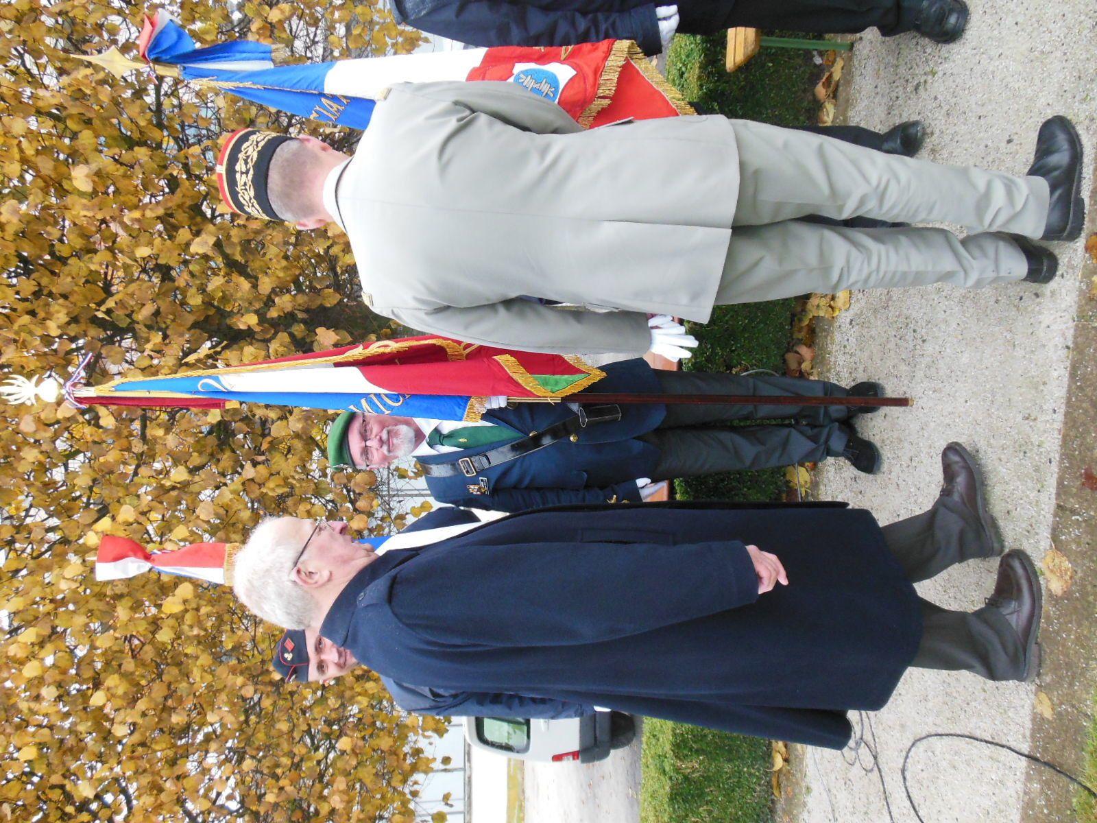 Photos des commémorations du centenaire de l'armistice du 11 novembre à Tours
