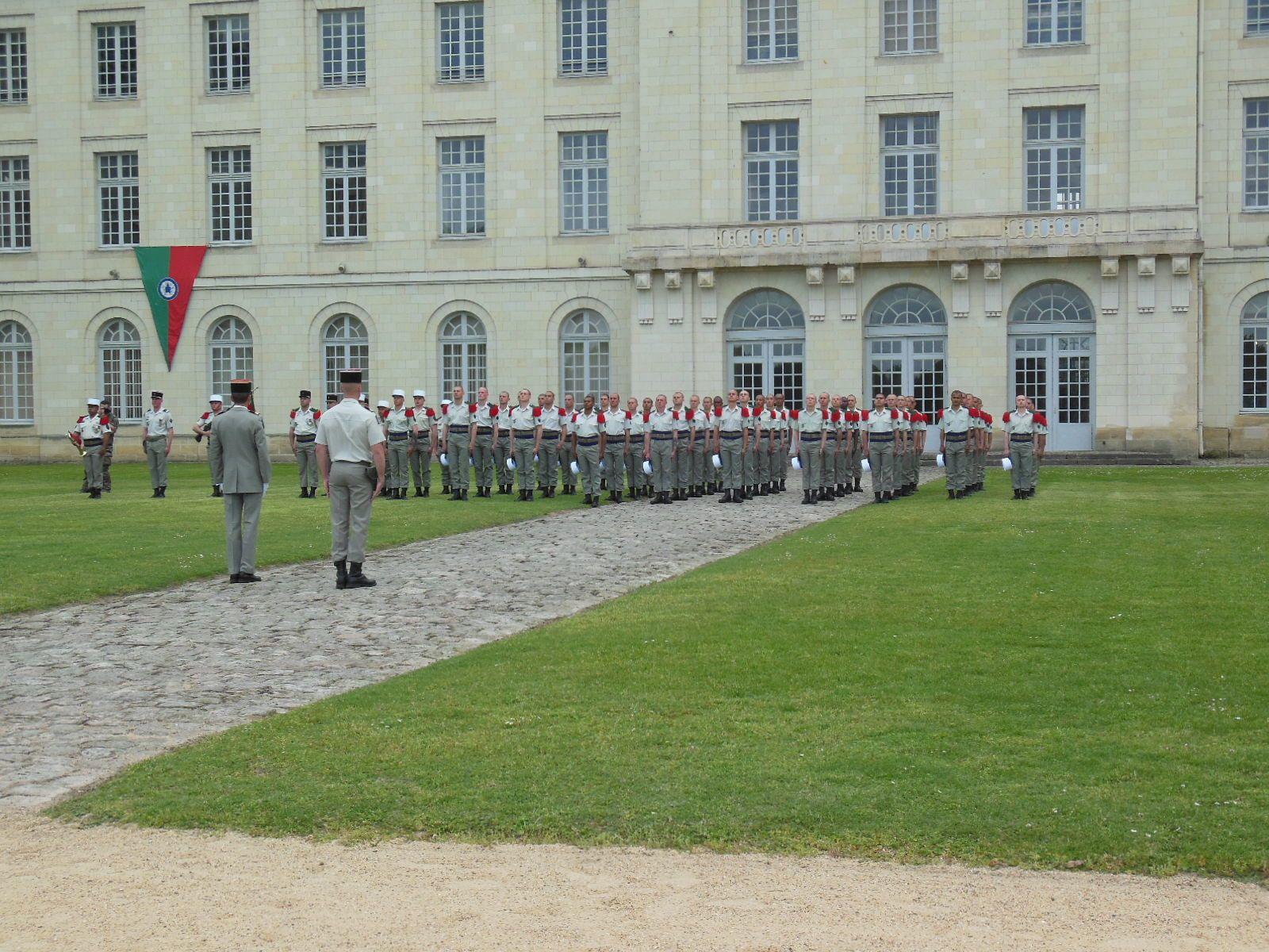 Photos de la remise de Képis Blancs du 07 mai 2019 à l'école de cavalerie de Saumur