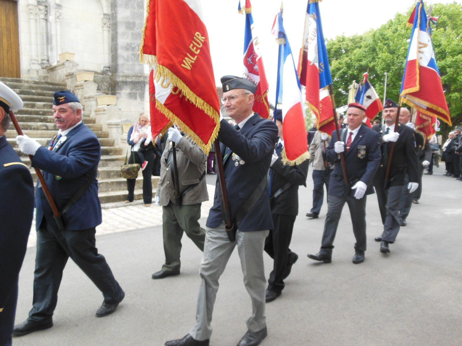 Photos de la cérémonie de Camerone du 04 mai 2019 à Betz-le-Château
