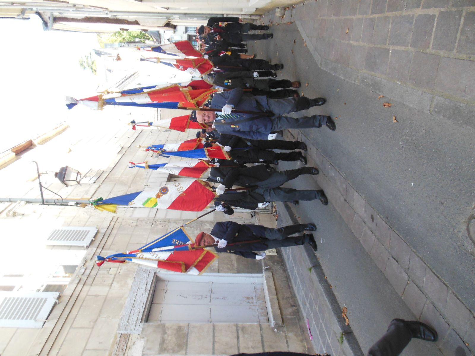 Photos de la Saint Michel de l'UNP 37 à Chinon du 13/10/2019