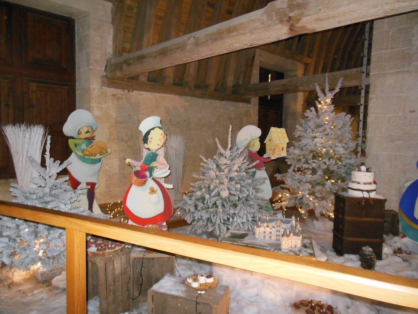 Visite du château d'Azay le Rideau le 02 janvier 2020