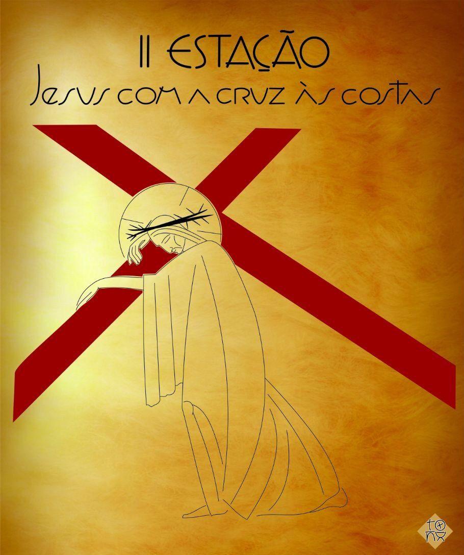 Chemin de croix réalisé par Tony Castro, Communauté catholique (brésilienne) Reine de la Paix (Rainha da Paz).