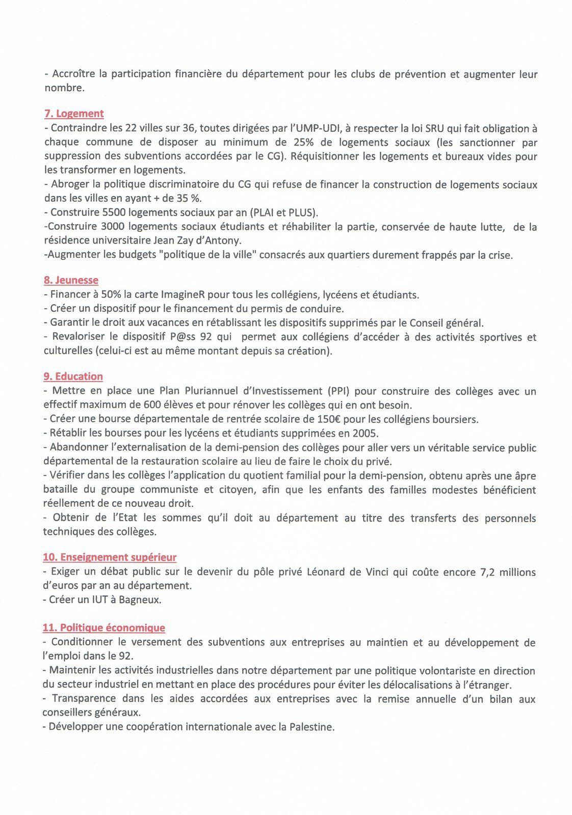92: pour un département solidaire, citoyen, durable (2)