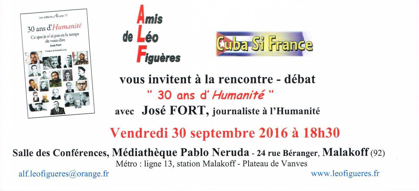 Amis de Léo Figuères: l'Humanité