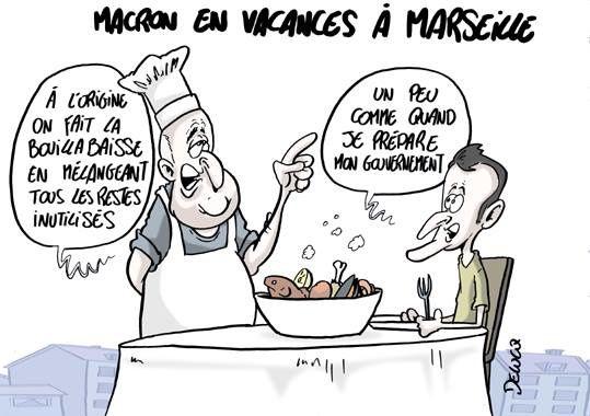Macron fait de moins en moins recette