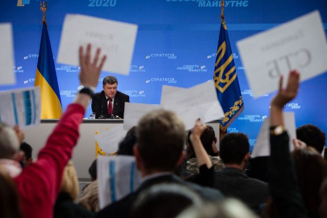 Le Président de l'Ukraine Petro Porochenko, le 25 septembre 2014. (Archives/Service de presse/présidence ukrainienne)