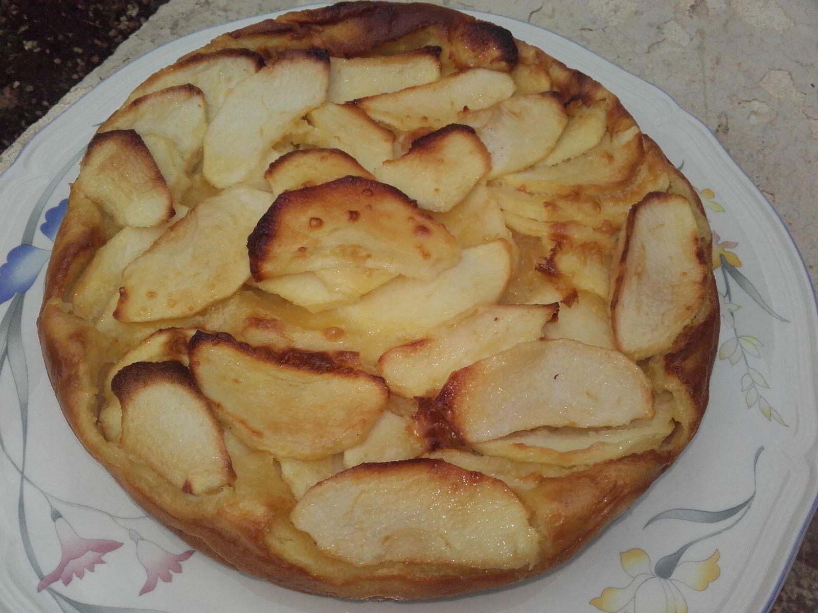 clafoutis aux pommes de pierre hermé