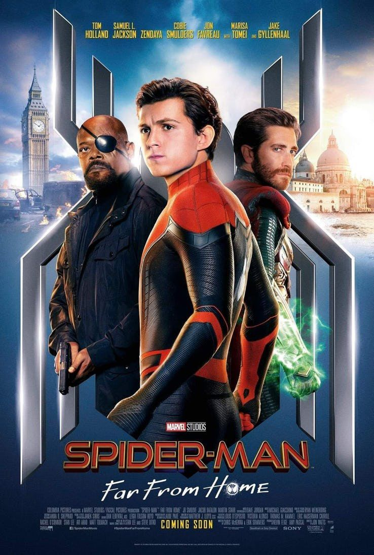 Spider-man far from home (****)