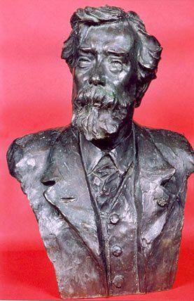 Buste de Henri-Mathieu Balthasar-Florence par Désiré HUBAIN (1861 – 1944). Il se trouve dans le foyer du Théâtre royal de Namur.