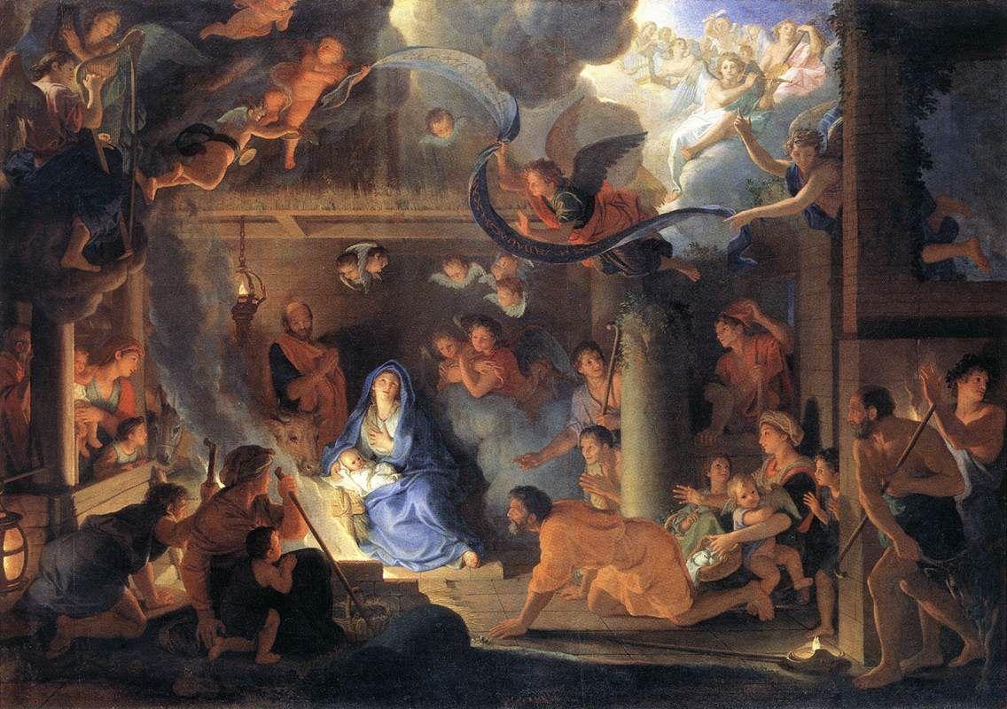 Nativité par Charles Le Brun