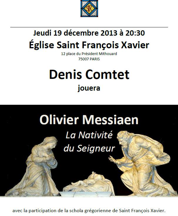 Olivier Messiaen : La Nativité du Seigneur