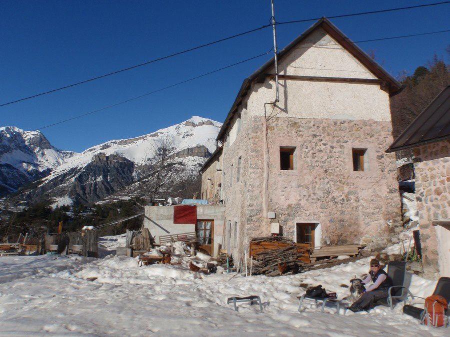 Le camp de base idéal au pied de la course: le gite de Vallieroune chez Sandrina.