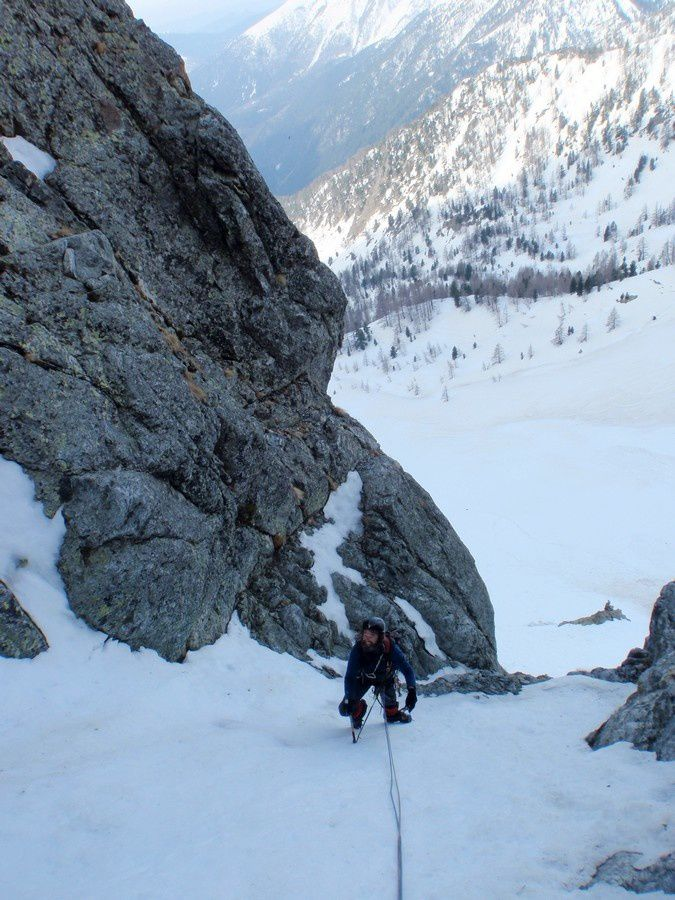 """At the beginning of the """"never seen gully"""""""