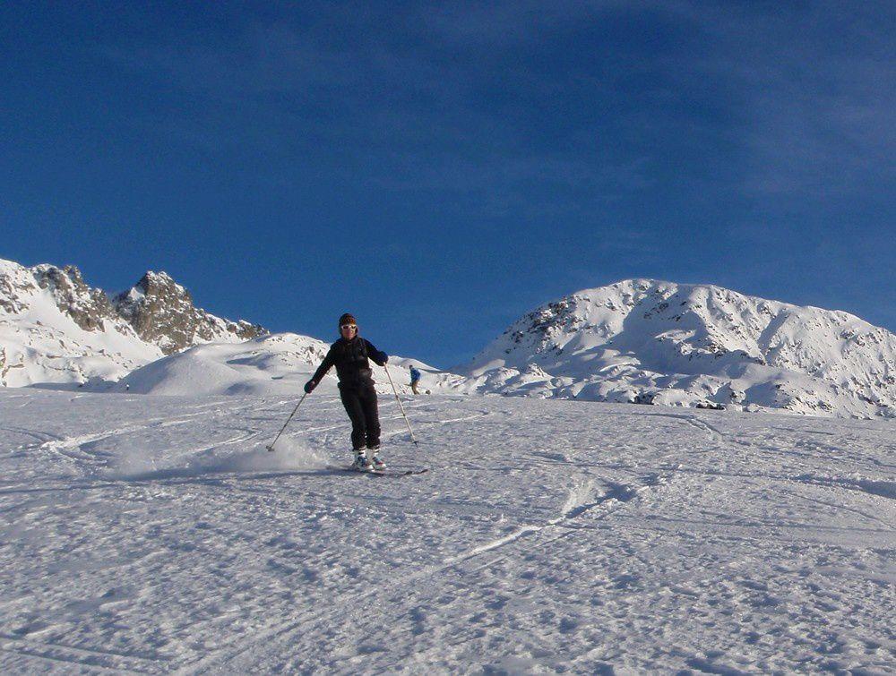 """Et si la skiabilité arrive à la hauteur de la convialité : ce sera forcéement une """"grande"""" journée."""