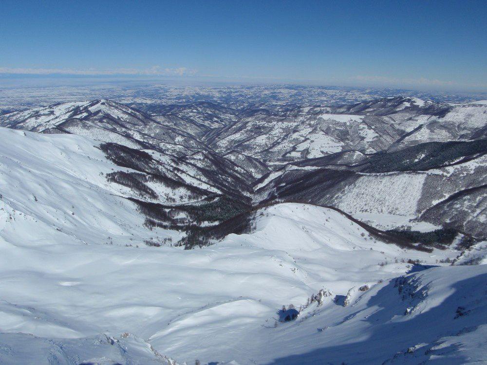 La plaine du Po sous la neige depuis à peine quelques jours.