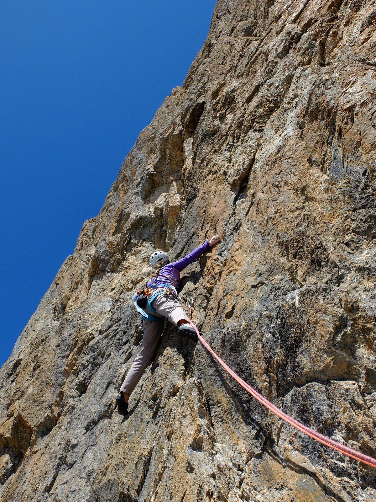 Et hop, bientôt le sommet de la tour Termier