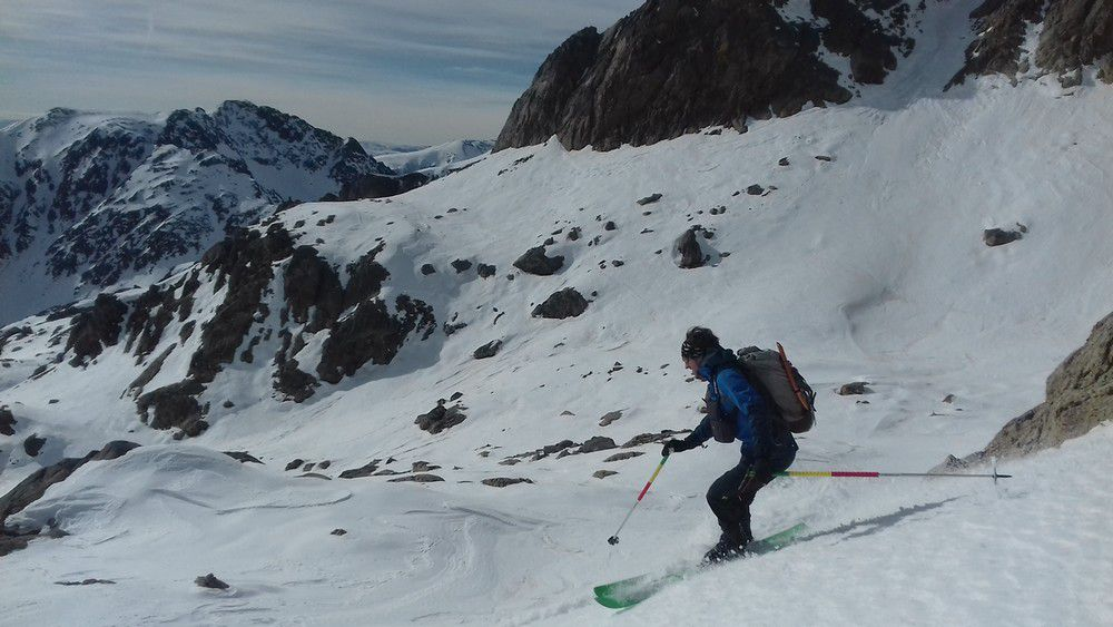 Du beau ski au Gélas