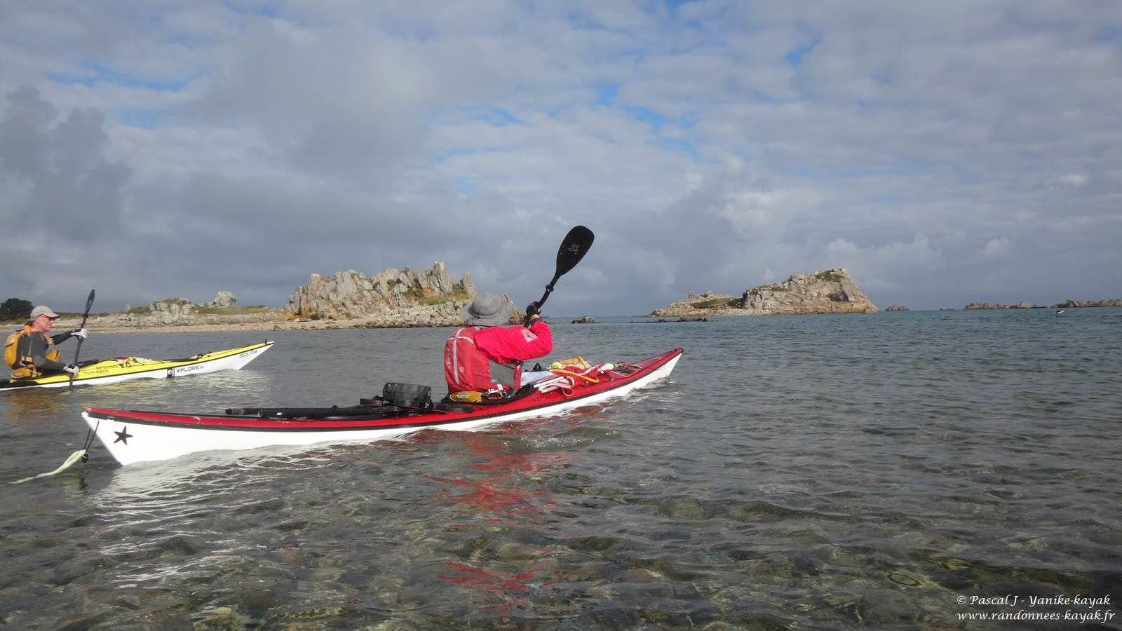 Tour de Bretagne en kayak de mer : de l'île d'Er à l'île Grande