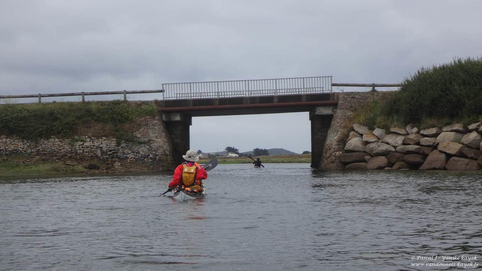 Tour de Bretagne en kayak de mer : de l'île Grande à Beg an Fry
