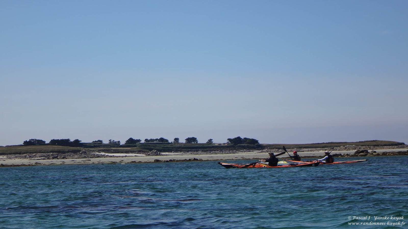 Tour de Bretagne en kayak de mer : de Beg an Fry à l'île de Batz