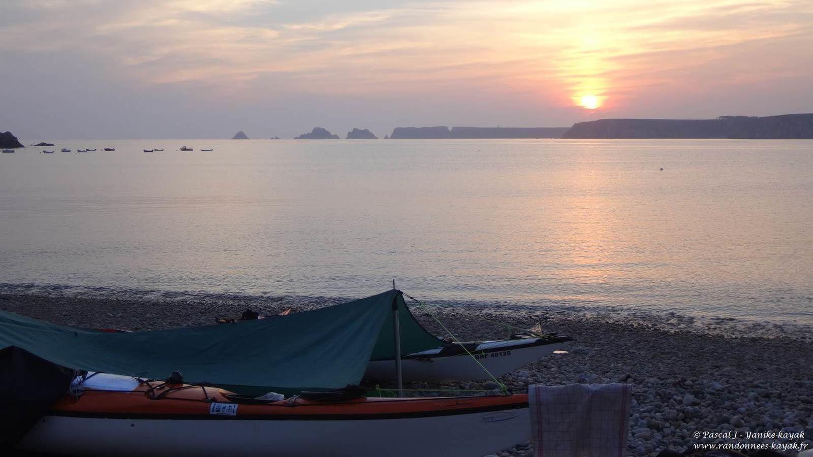 Tour de Bretagne en kayak de mer : de Lampaul Plouarzel à l'anse de Dinan