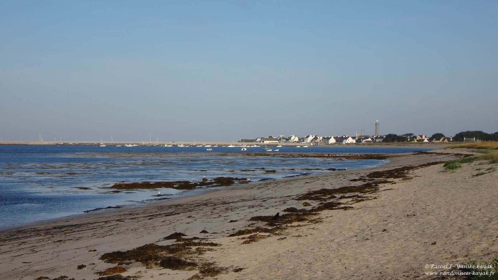 Tour de Bretagne en kayak de mer : de Penmarc'h aux Glénan (Fort Cigogne)