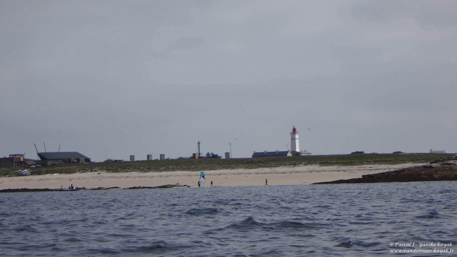 Tour de Bretagne en kayak de mer : de Fort Cigogne (Glénan) à l'île de Groix