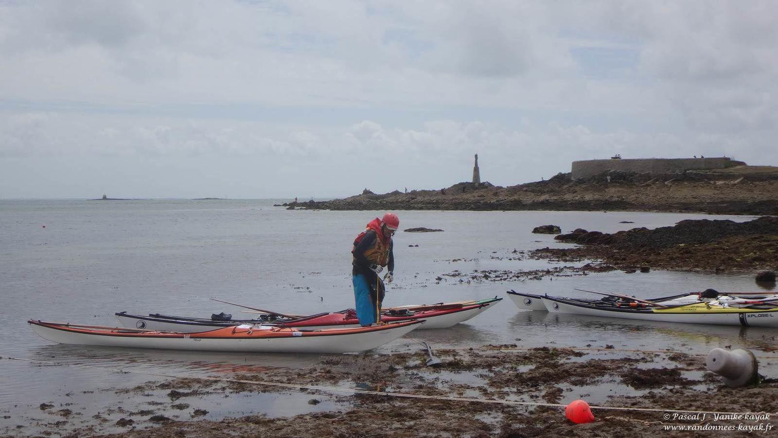 Tour de Bretagne en kayak de mer : de Quiberon à Larmor-Baden