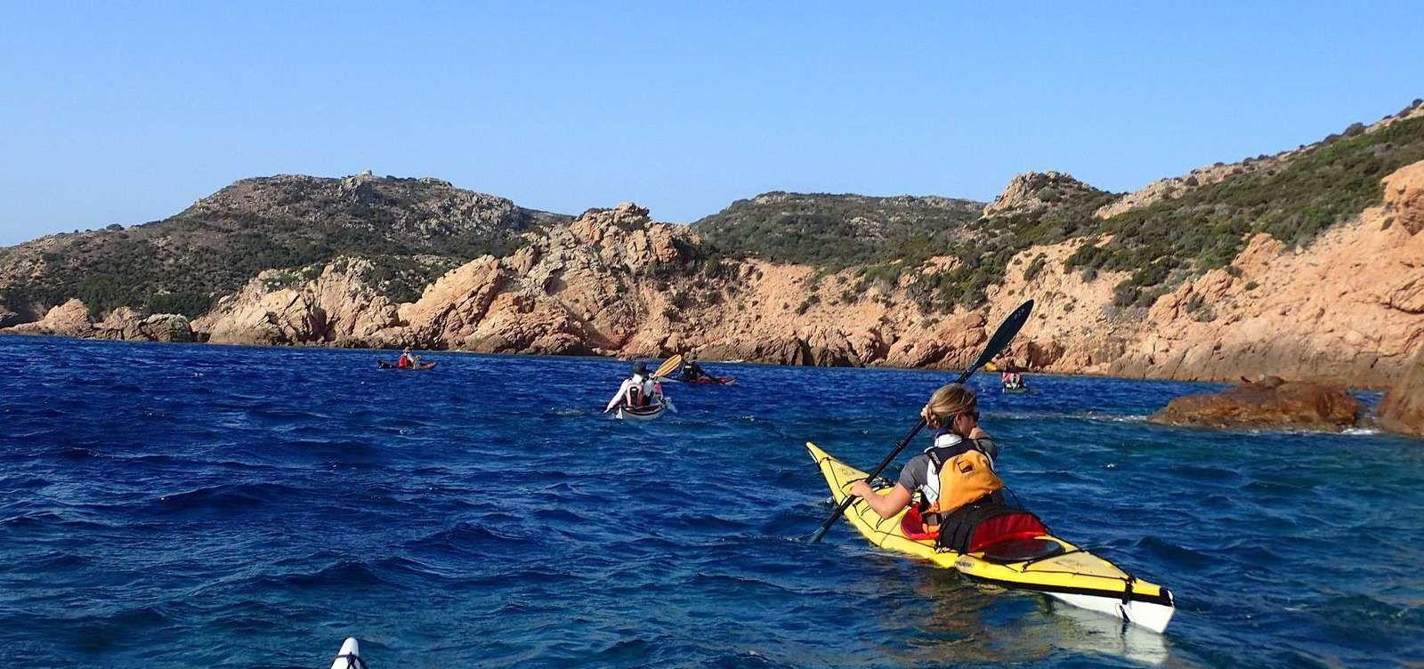 La joyeuse équipée de 9 kayakistes finistériens en Corse - Chapitre 3