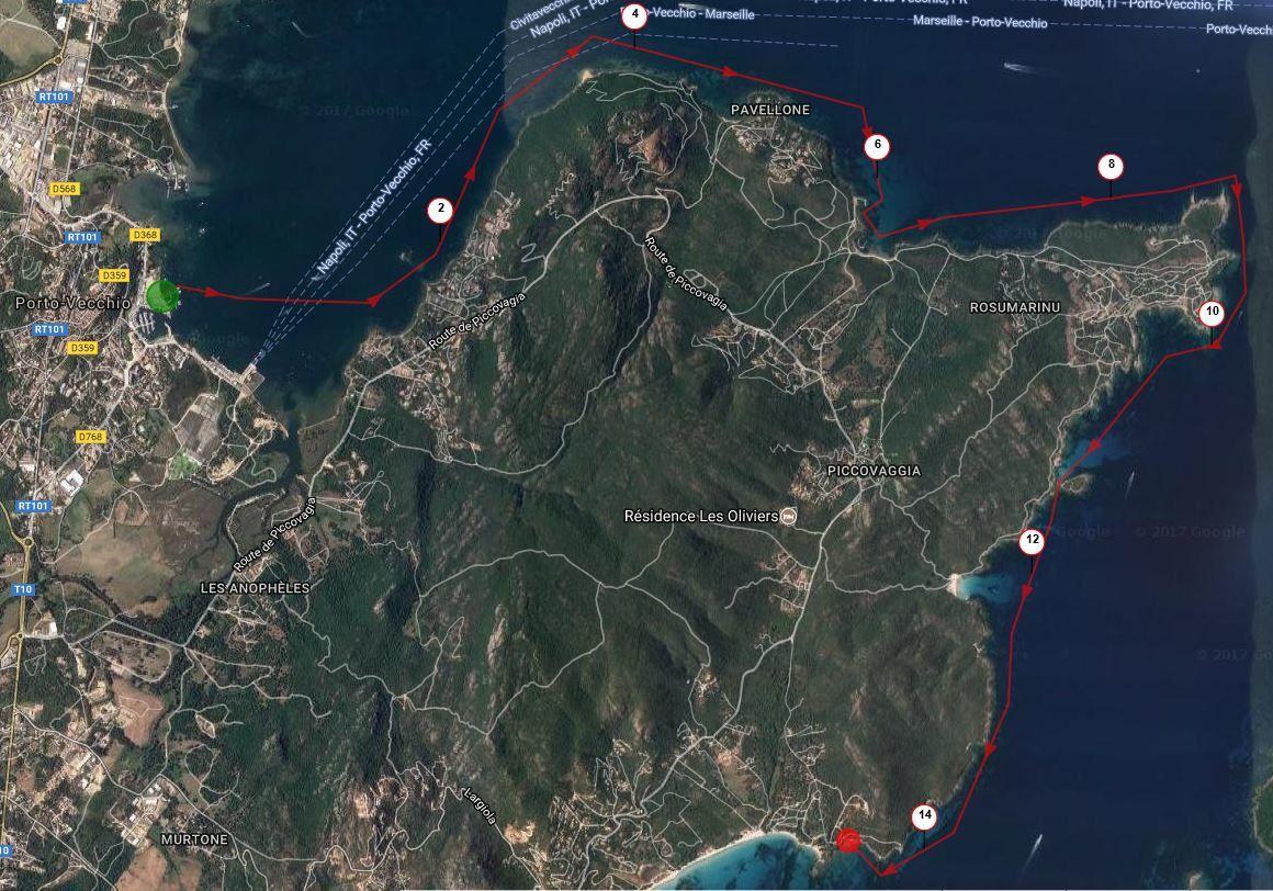 La joyeuse équipée de 9 kayakistes finistériens en Corse - Chapitre 2