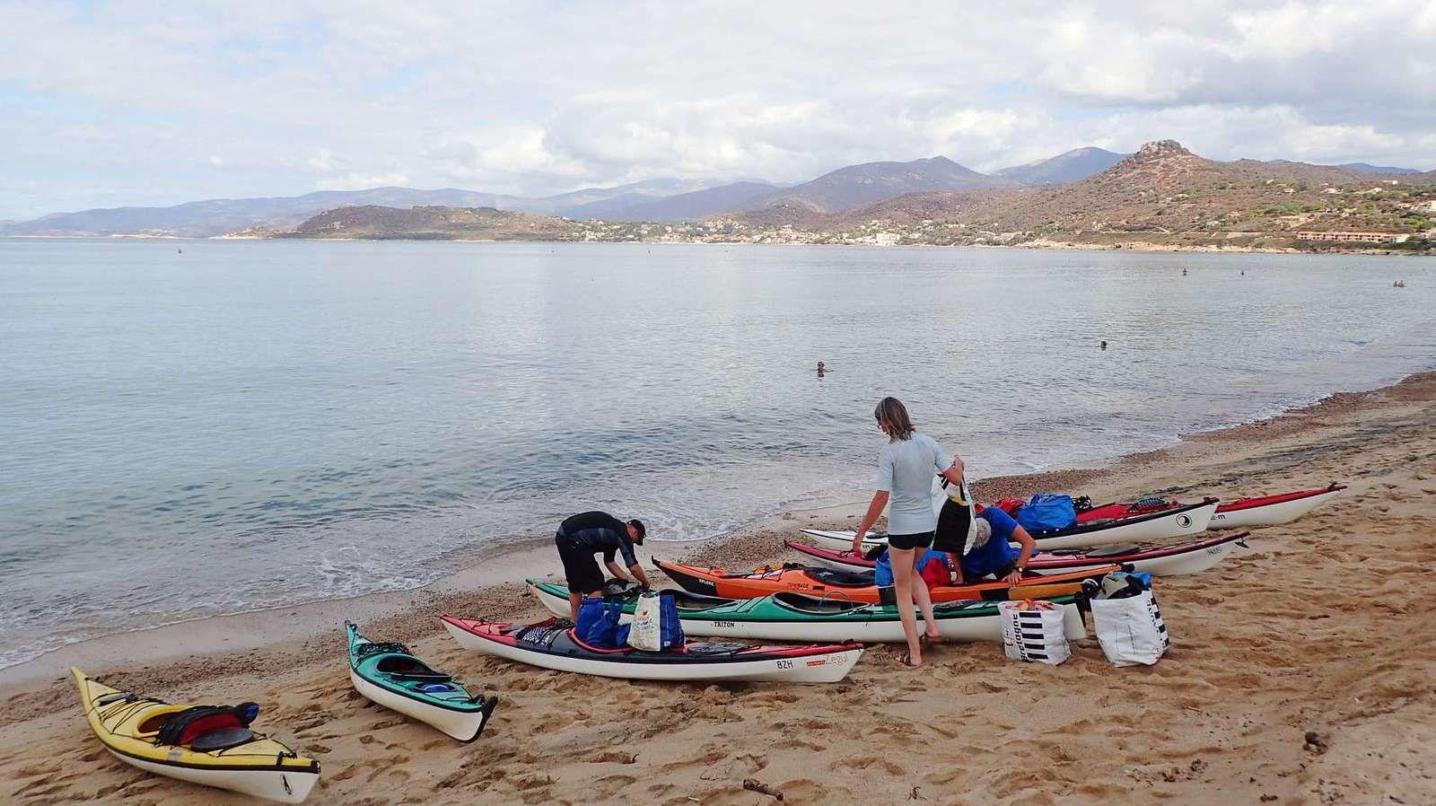 La joyeuse équipée de 9 kayakistes finistériens en Corse - Chapitre 7