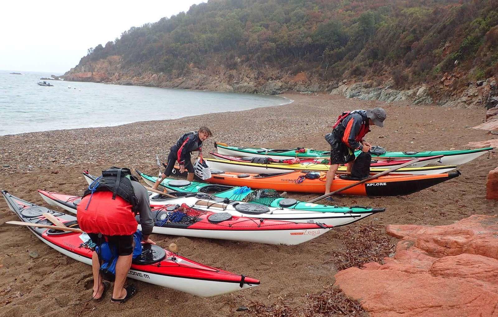 La joyeuse équipée de 9 kayakistes finistériens en Corse - Chapitre 10