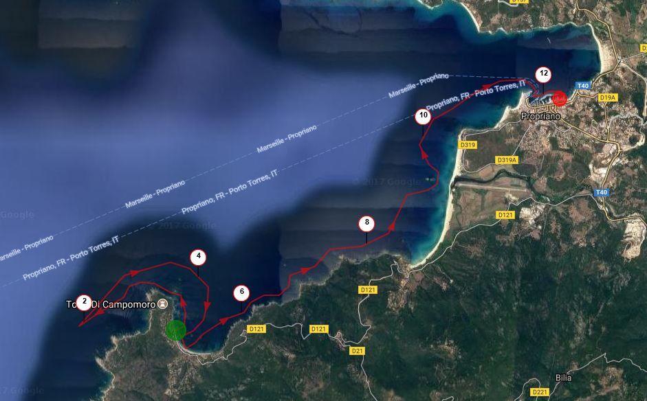 La joyeuse équipée de 9 kayakistes finistériens en Corse - Chapitre 11