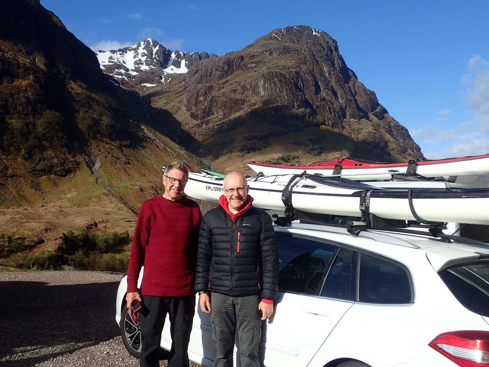 Skye 2018 : a new adventure; chapitre 1 : it's a long road !