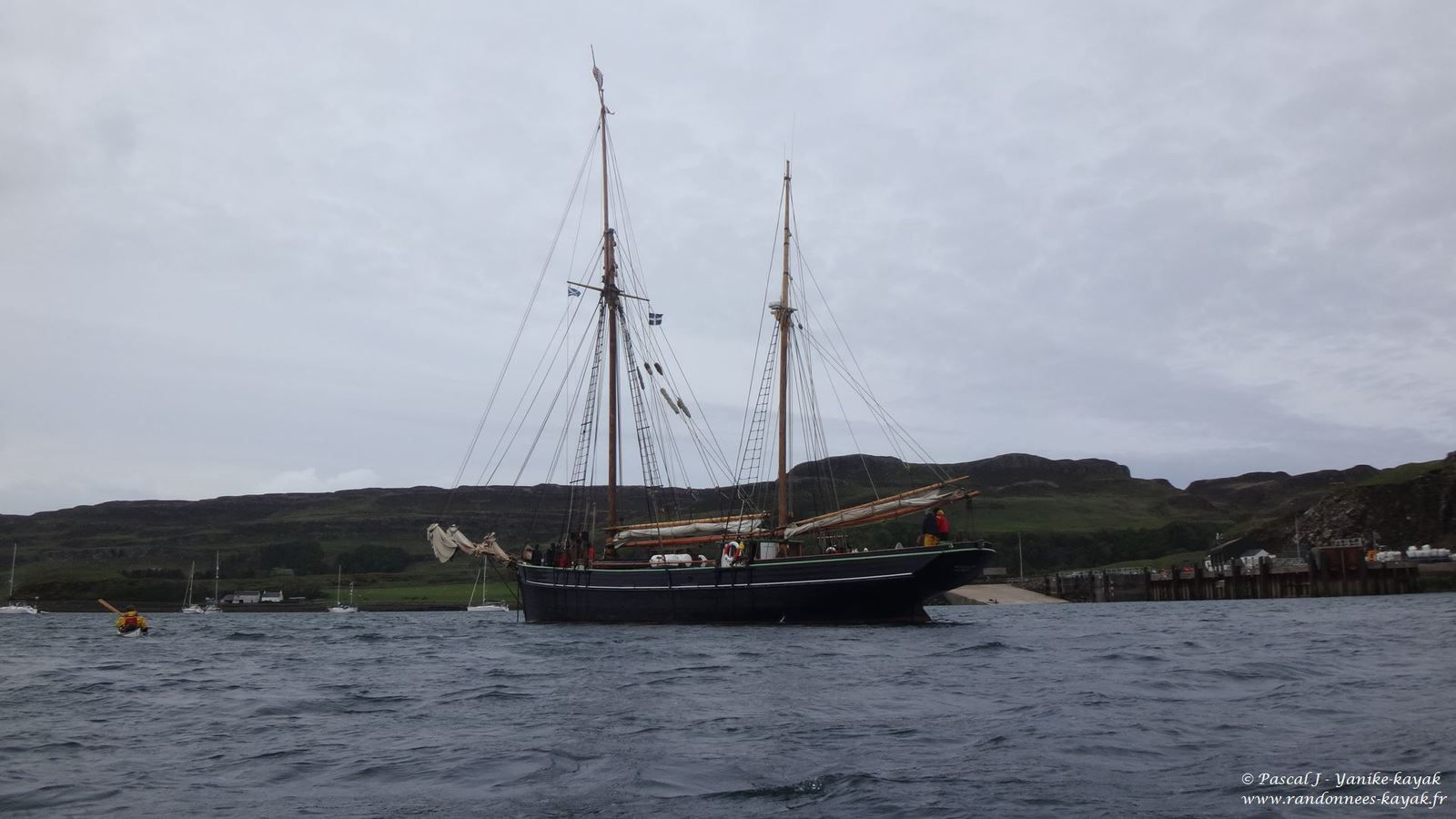 Skye 2018 : a new adventure - Chapitre 5 : coup de vent sur Rum, de Harris à Canna, découverte d'un autre monde