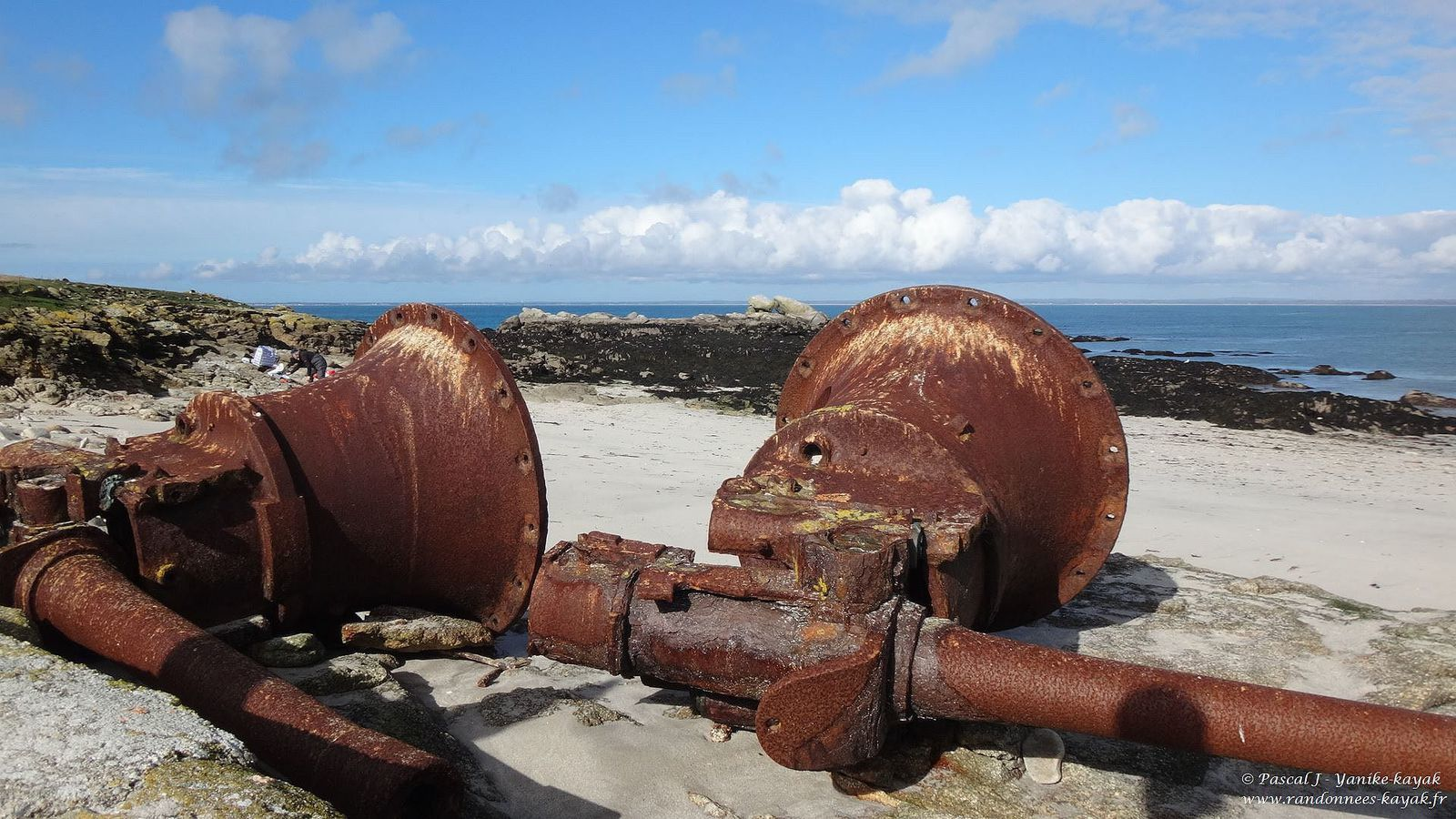 Les Glenan en hiver  : la beauté des îles