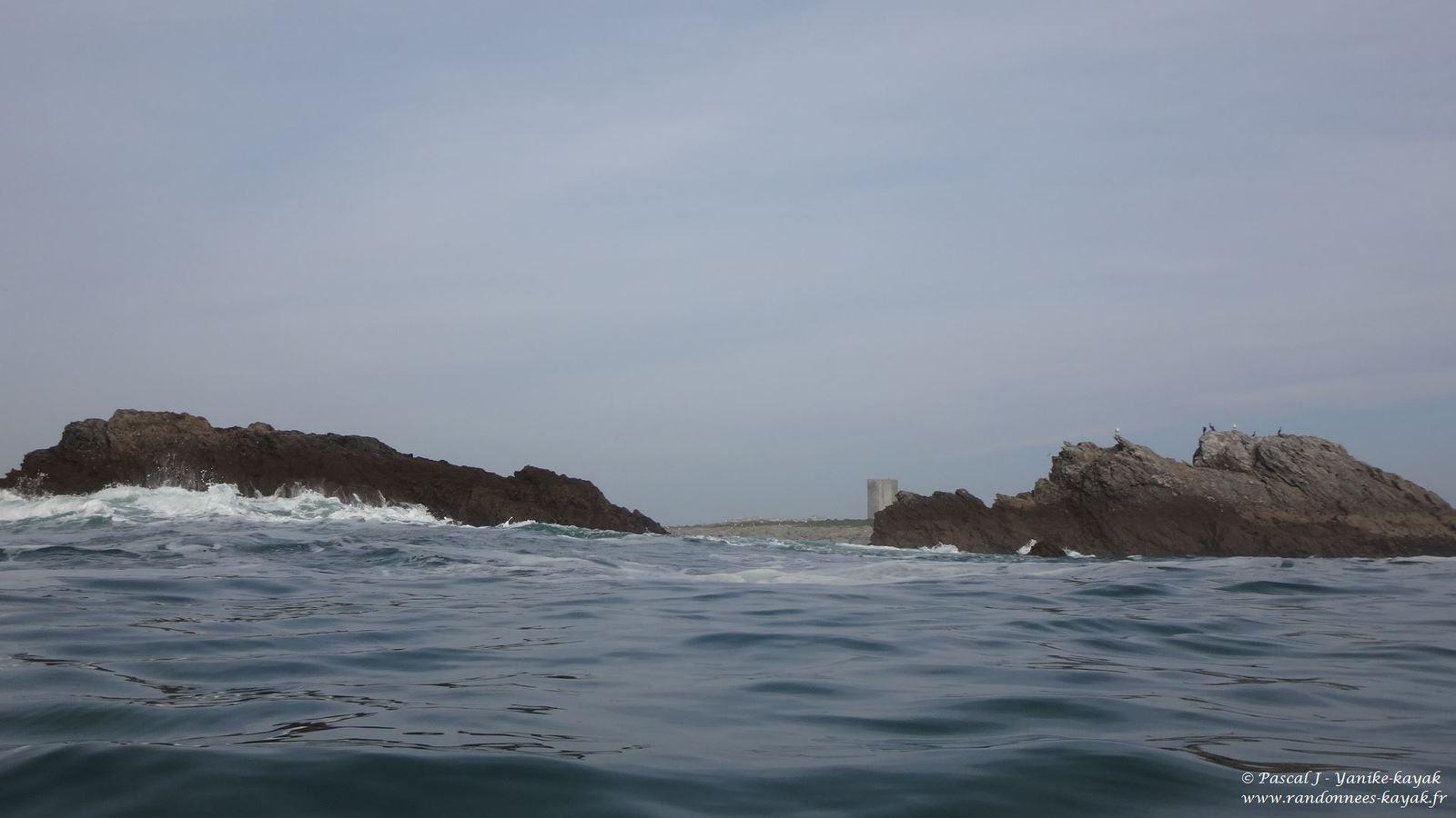 De Trévignon à l'île Verte