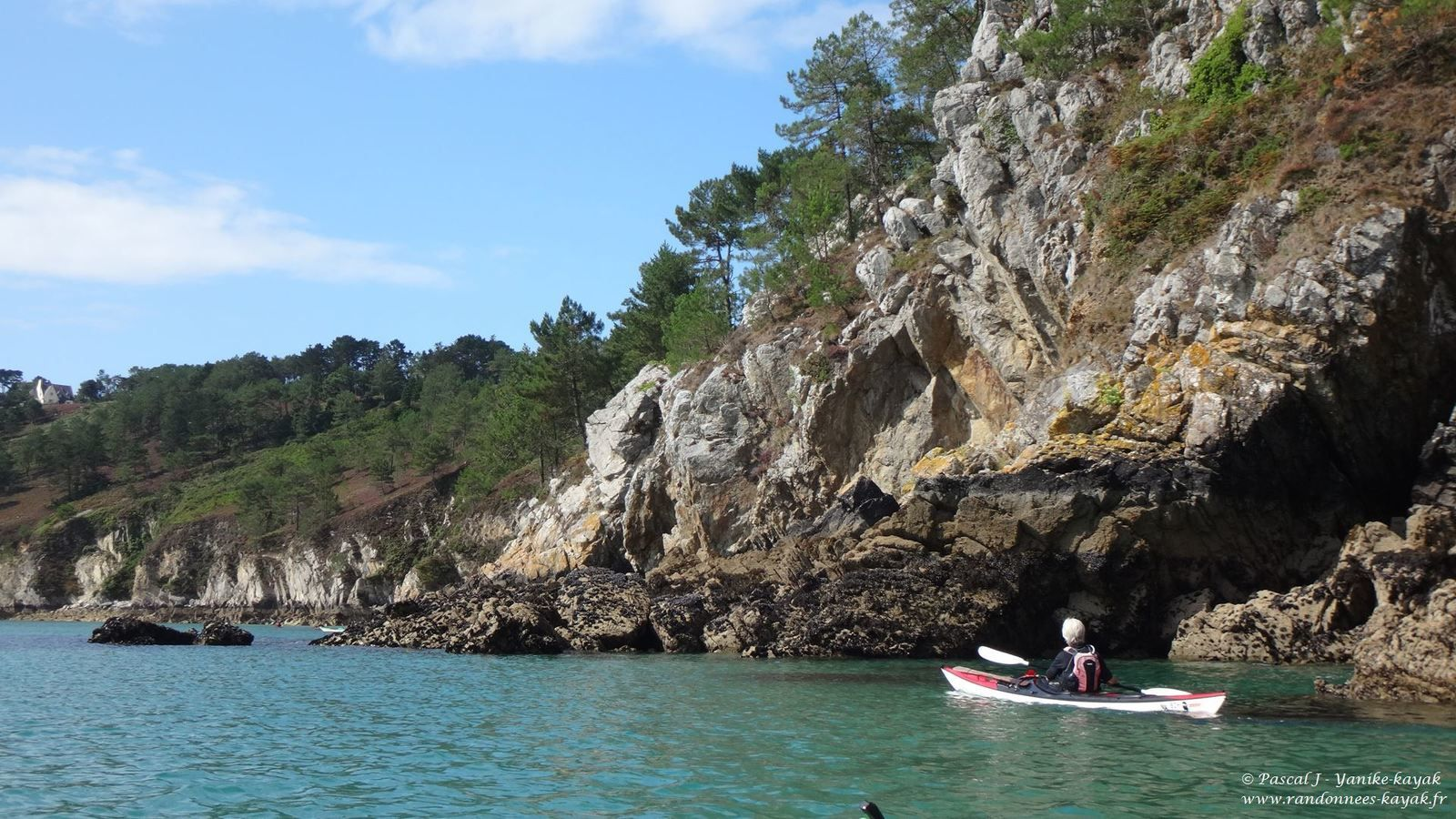 Presqu'île de Crozon : les grottes marines
