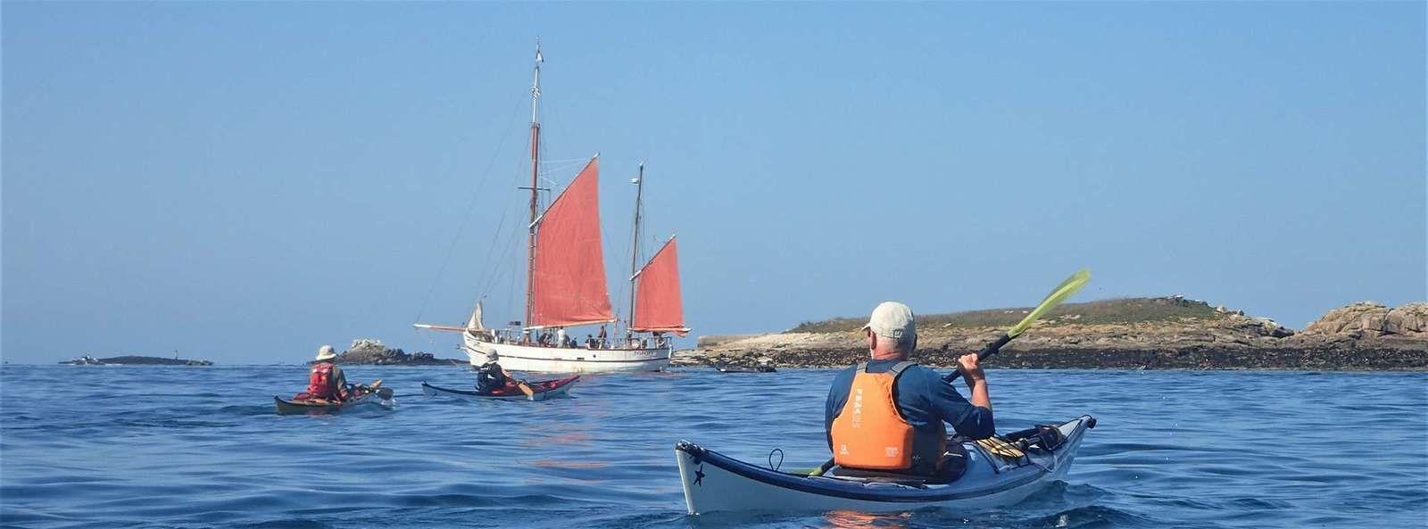 Dans l'archipel des Glénan, avec les anglo-écossais, sur les traces de leurs ancêtres