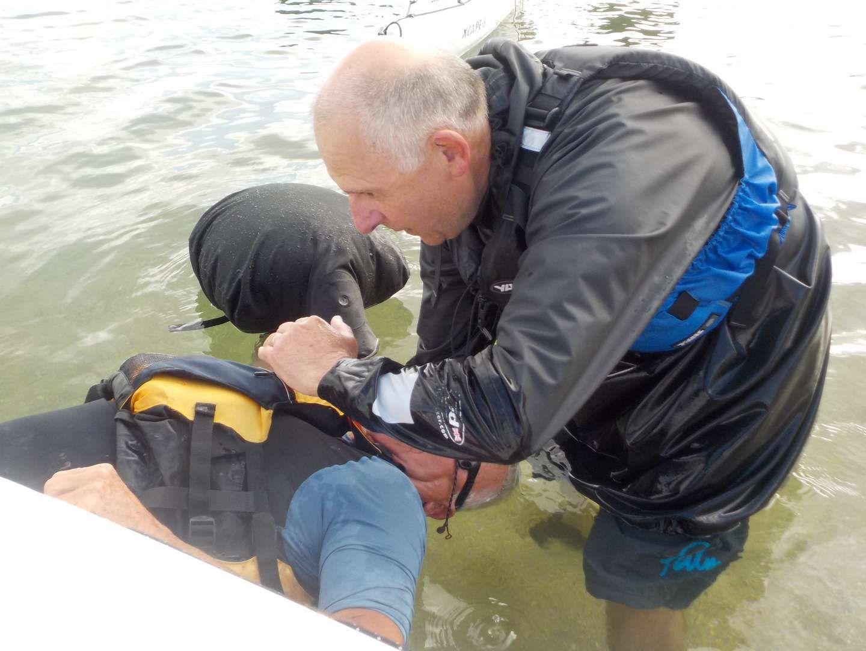 Des Corsaires sur l'Odet, à la découverte du roll groenlandais