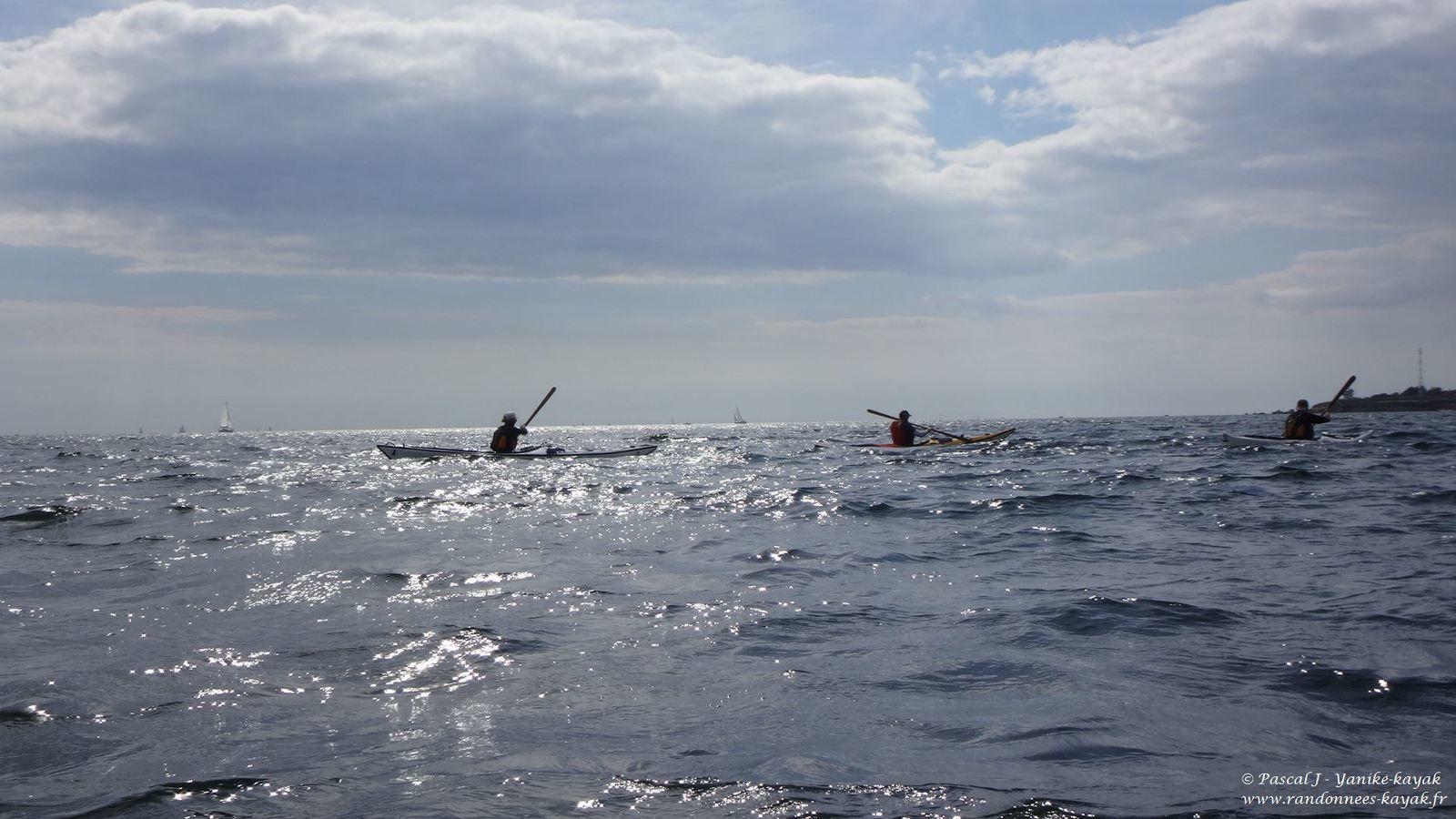 Des Corsaires dans la baie de Concarneau